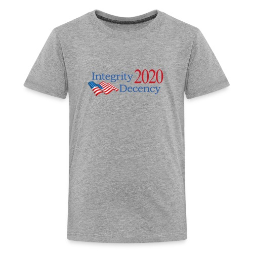 Vote for real American values! - Kids' Premium T-Shirt