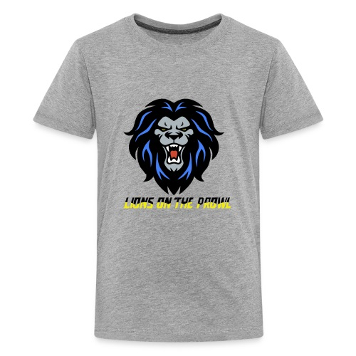 Lions On The Prowl` - Kids' Premium T-Shirt