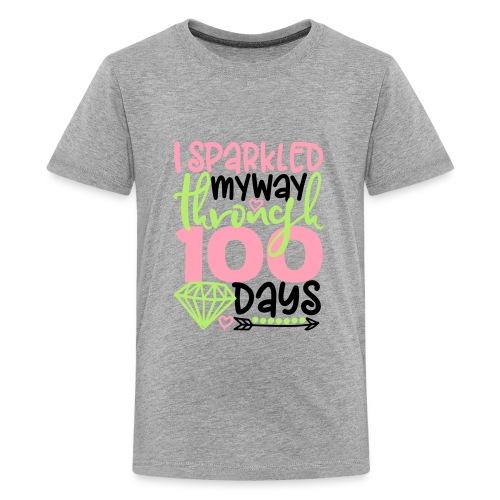 100dayssparkle - Kids' Premium T-Shirt
