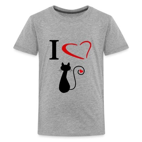 i love cats - Kids' Premium T-Shirt