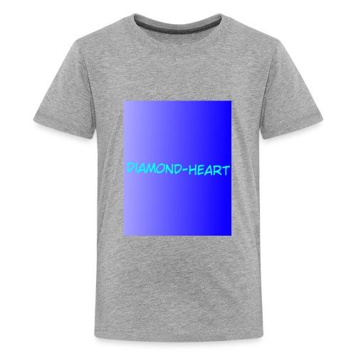 DiamondHeartmerch2 - Kids' Premium T-Shirt