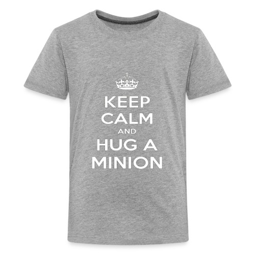 quot Keep Calm and Hug a Minion quot T Shirt - Kids' Premium T-Shirt