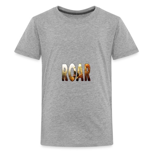 Roar Text - Kids' Premium T-Shirt