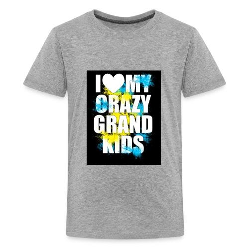 I Love My Crazy Grandkids - Kids' Premium T-Shirt