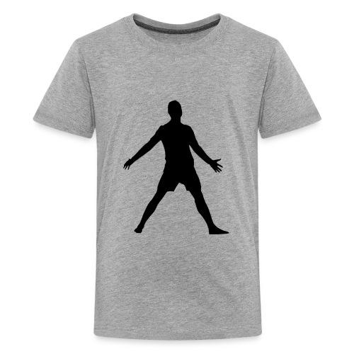 football player celebrating - Kids' Premium T-Shirt