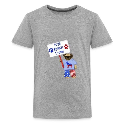 Protester Pug - Kids' Premium T-Shirt