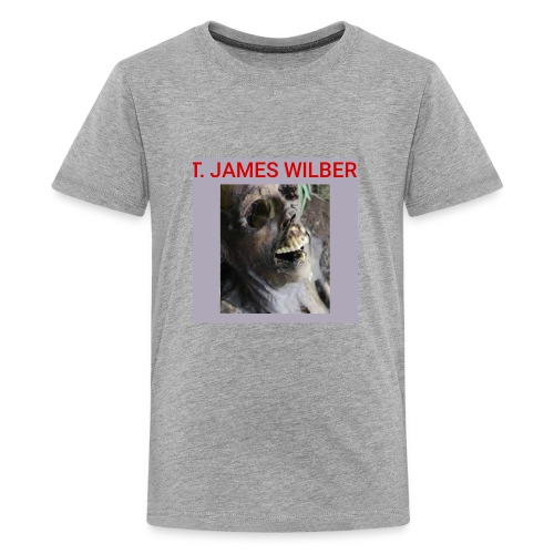 T. James Wilber corpse image - Kids' Premium T-Shirt