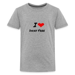 I LOVE DAIRY FREE - Kids' Premium T-Shirt