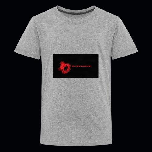 Red String Recording - Kids' Premium T-Shirt