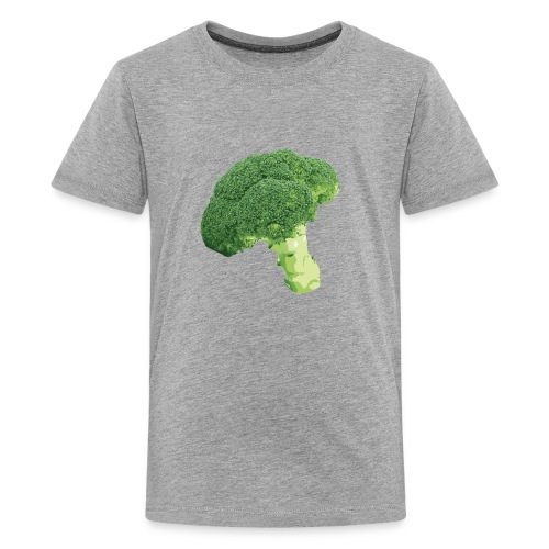 Photorealistic Green Broccoli - Kids' Premium T-Shirt