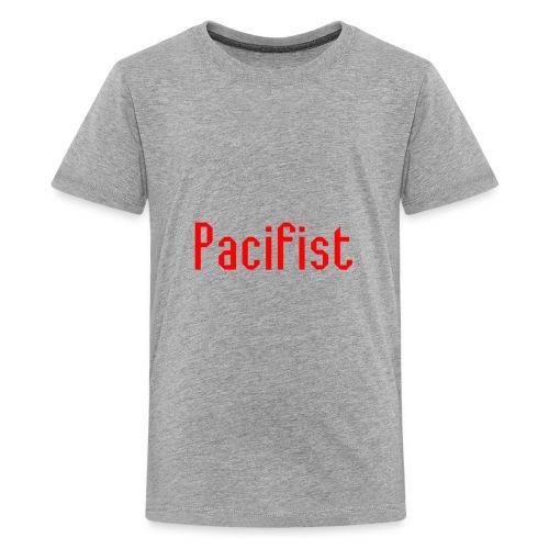 Pacifist T-Shirt Design - Kids' Premium T-Shirt