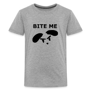 Bite Me Dog Black - Kids' Premium T-Shirt
