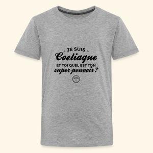 Celiac superpower - Kids' Premium T-Shirt
