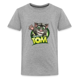 Talking_TOM_wave_preview_lowRes - Kids' Premium T-Shirt
