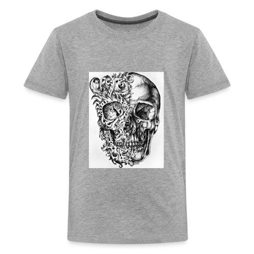 skull of madness - Kids' Premium T-Shirt