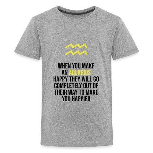 Zodiac. Aquarius. Horoscope. Birthday Gift - Kids' Premium T-Shirt
