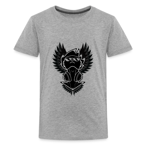 Winged Dj - Kids' Premium T-Shirt