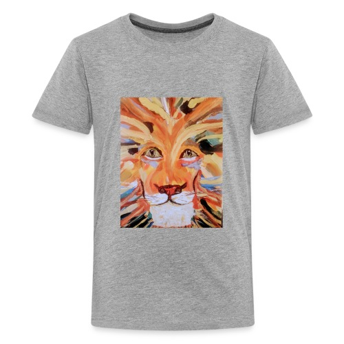 Daktari the colorful lion - Kids' Premium T-Shirt
