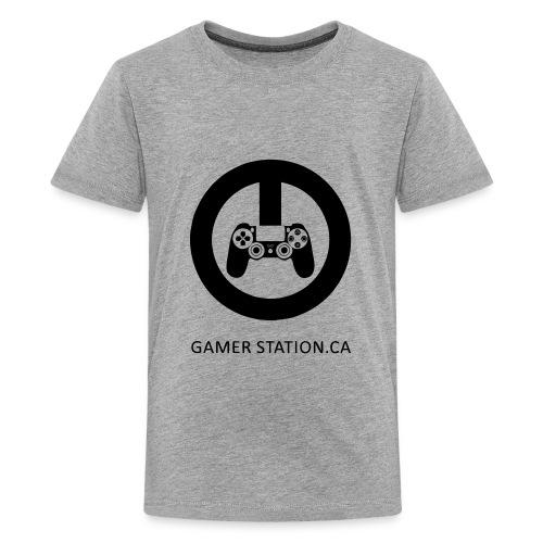 GamerStation.ca logo - Kids' Premium T-Shirt