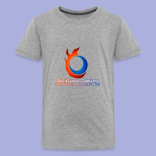 SolyLuna Gaming Logo - Kids' Premium T-Shirt
