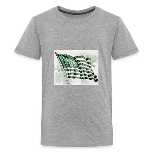 American Flag #METOO - Kids' Premium T-Shirt
