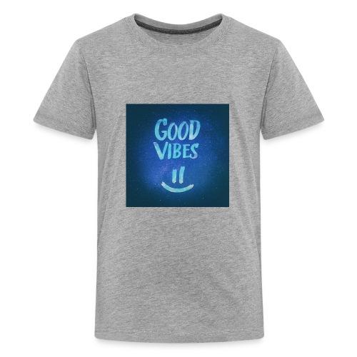 Good Vibes -CrownFarri.Productions - Kids' Premium T-Shirt