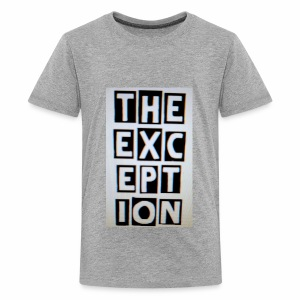 The Exception Campaign - Kids' Premium T-Shirt
