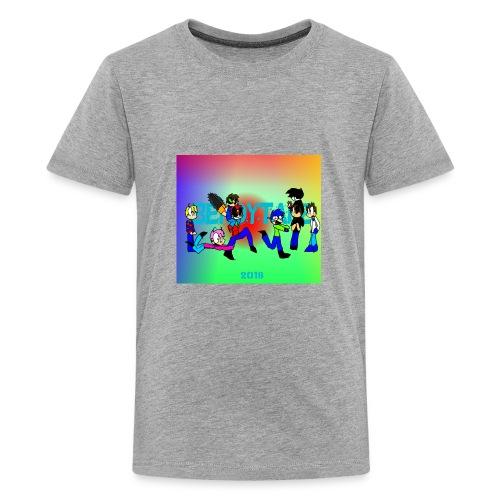 Bendytale phone case - Kids' Premium T-Shirt