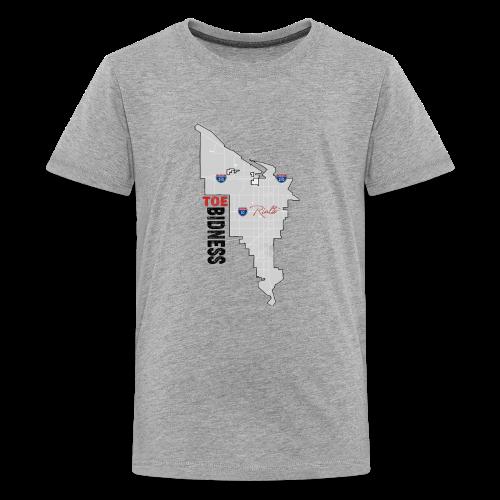 Toe Bidness - Kids' Premium T-Shirt
