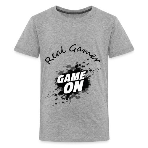 REAL GAMER - Kids' Premium T-Shirt