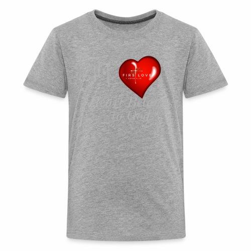My Heart T Shirt White - Kids' Premium T-Shirt