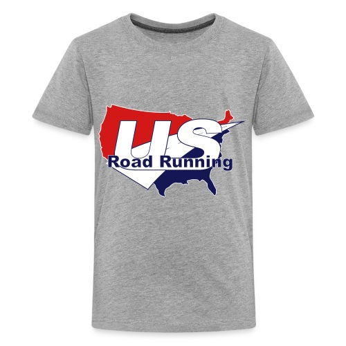 US Road Running Logo - Kids' Premium T-Shirt