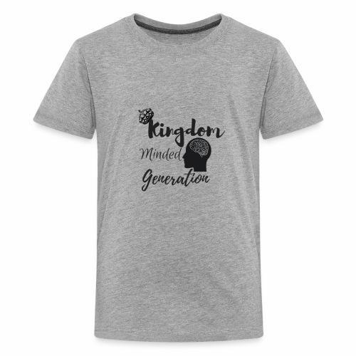 Kingdom minded generation - Kids' Premium T-Shirt