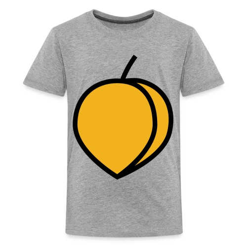 Peach Lover Design Cute And Funny Food Gift Idea - Kids' Premium T-Shirt