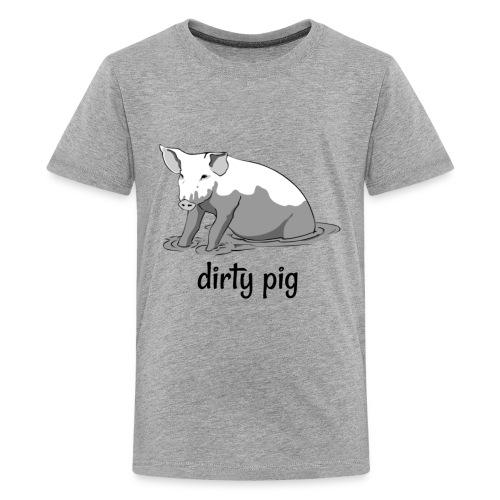 Dirty Pig - Kids' Premium T-Shirt