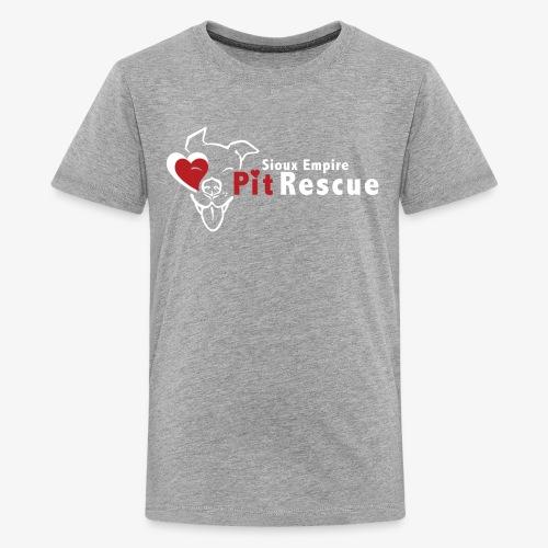 White SEPR Logo - Kids' Premium T-Shirt