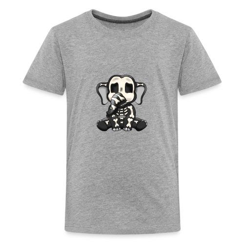 Elephant skeleton - Kids' Premium T-Shirt
