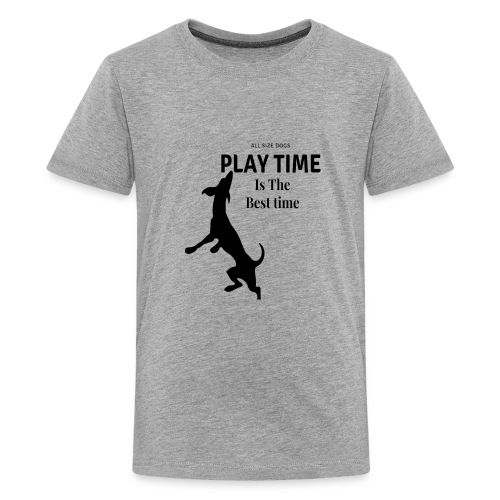 Playtime is the best time T-shirt design - Kids' Premium T-Shirt