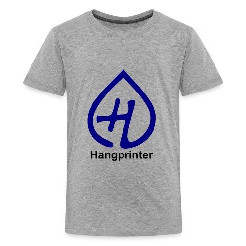 Hangprinter Logo and Text - Kids' Premium T-Shirt