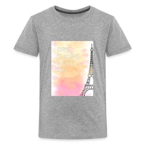 PARIS GOOD IDEA watercolor - Kids' Premium T-Shirt