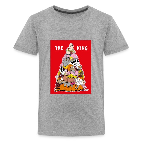 The king red - Kids' Premium T-Shirt