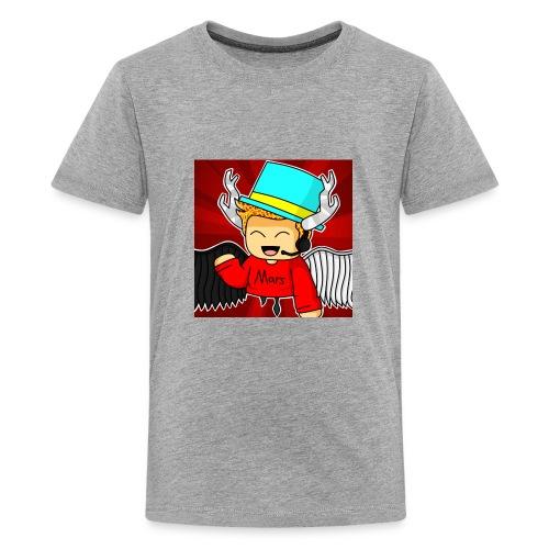 MarsPlayz Logo Merch - Kids' Premium T-Shirt