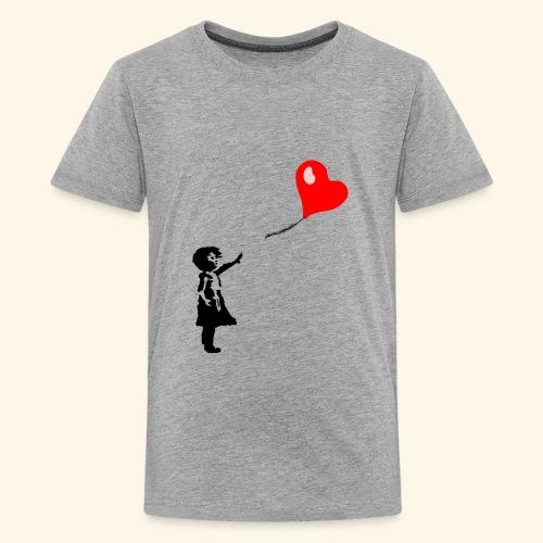 Balloon Girl - Kids' Premium T-Shirt