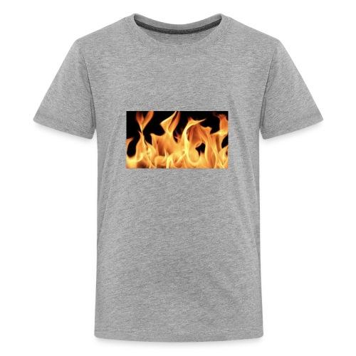 Flamin Ground - Kids' Premium T-Shirt