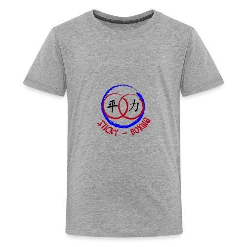 Sticky-Boxing Martial Arts - Kids' Premium T-Shirt