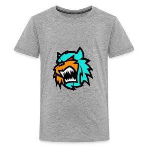 Bob cat logo Neutron - Kids' Premium T-Shirt