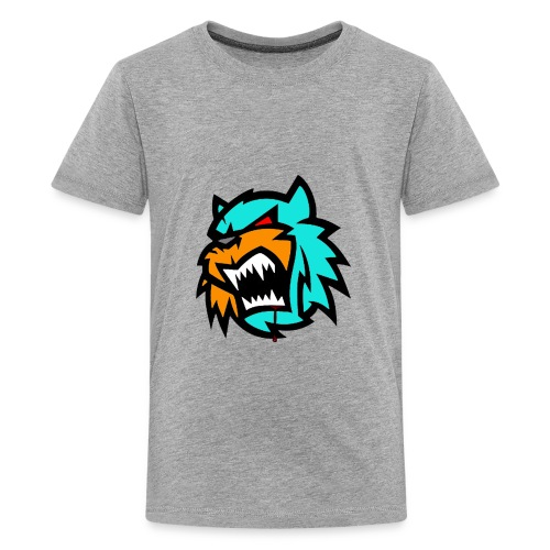 Bob cat logo Neutron - Kids' Premium T-Shirt