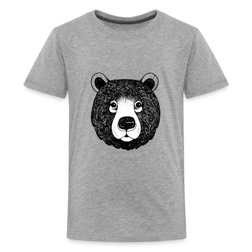 The head of bear - Kids' Premium T-Shirt