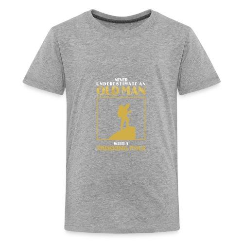Old Man Trekking - Kids' Premium T-Shirt