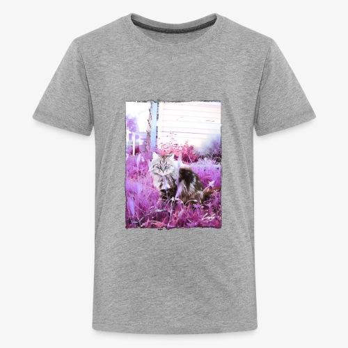 Lady cat - Kids' Premium T-Shirt